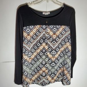 Claudia Richard blouse XL